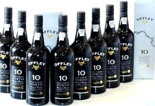 Offley  10 years old Tawny - 8 Bottles (0.75L)