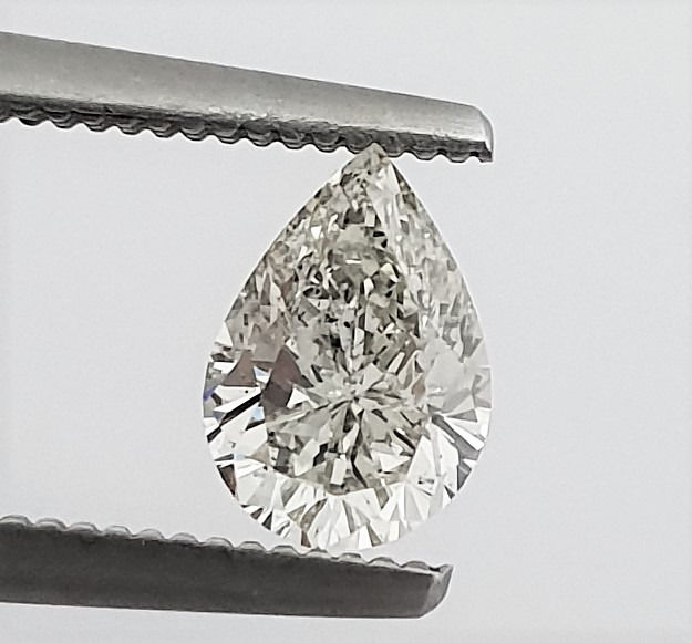 Diamond - 0.81 ct - Pear - G - SI1