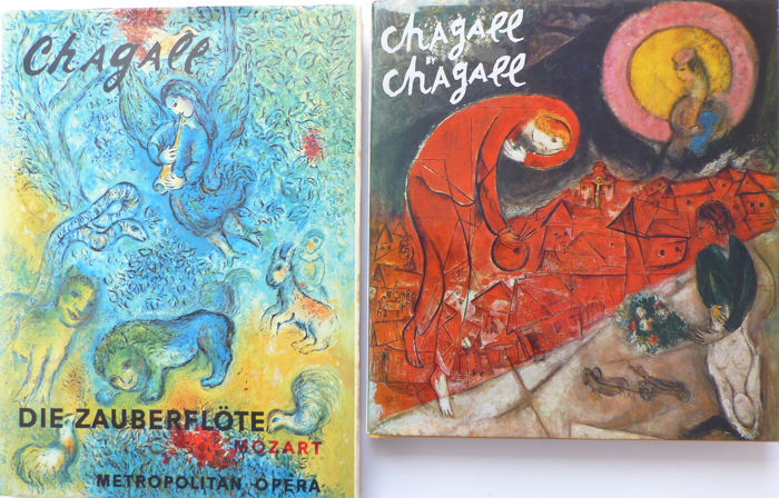 Marc Chagall - Lot with 2 books - 1971/1979