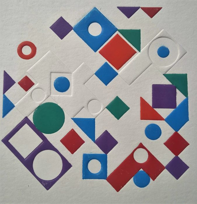 Victor Vasarely -Handsigned - Anole Normal Edition