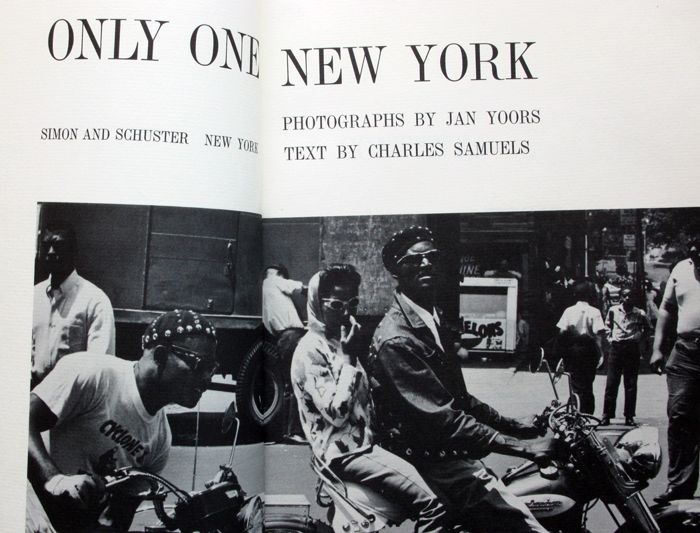 Jan Yoors - Only One New York - 1965