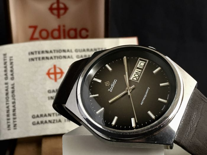 Zodiac - AstroQuartz - Full Set - incl Box & Papers - Homme - 1970-1979