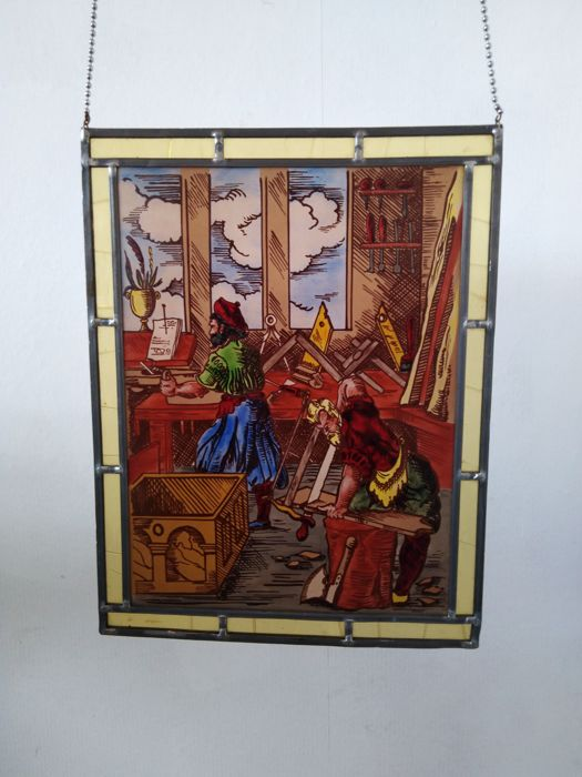 Joiner and carpenter work - Glass (stained glass)