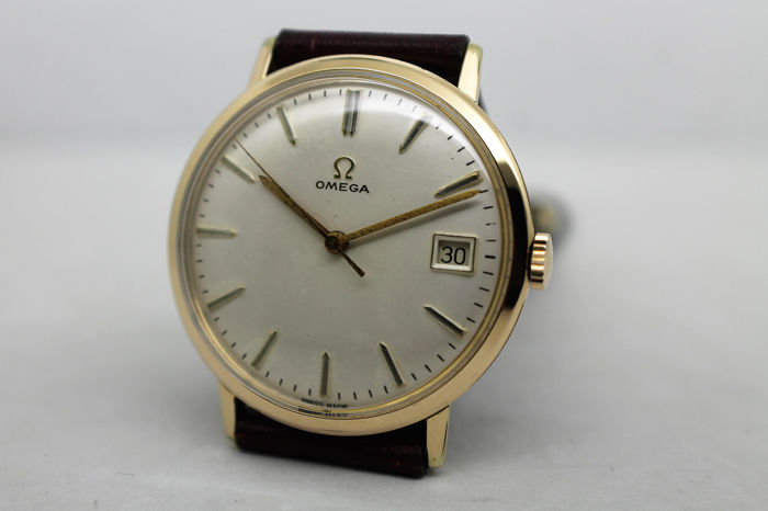 Calendario 1963.Omega Calibre 610 Caixa Dourada Com Calendario Men Ano 1963 Catawiki