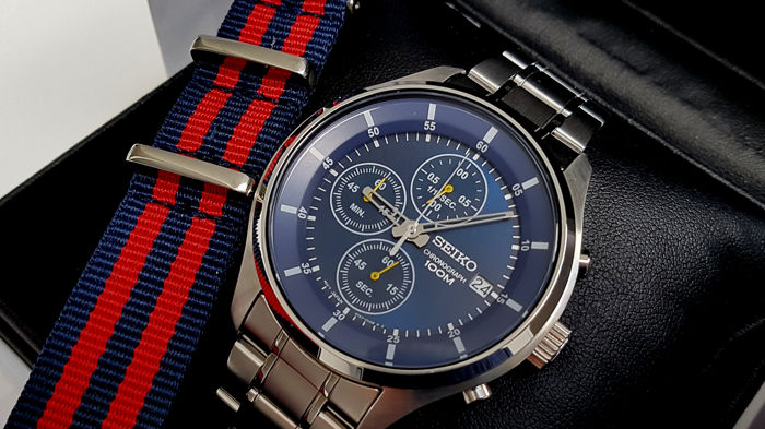 Seiko - Seiko chrono sport  blue dial  - Men - 2019