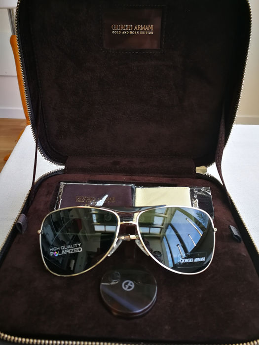 e20d7dcafdd3 Giorgio Armani - Gold and Horn Edition - Sunglasses - Limited Edition  Collection
