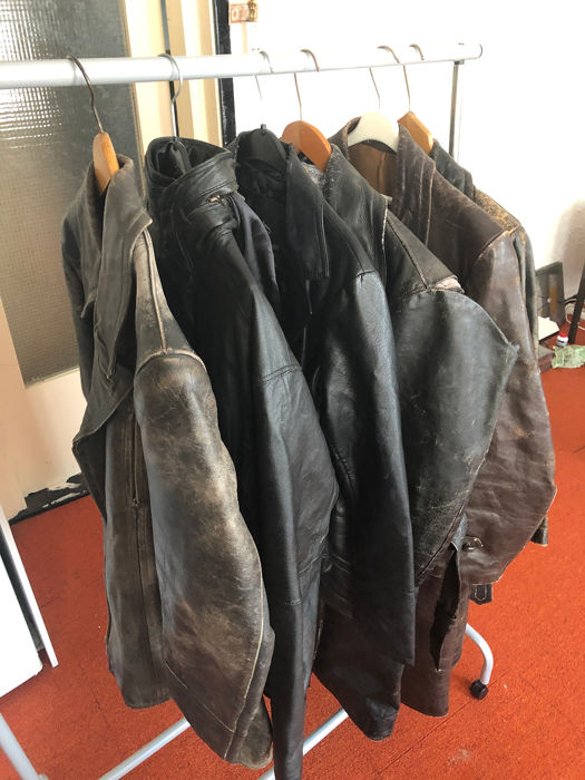 Handmade Solex Jackets (6) - Leather