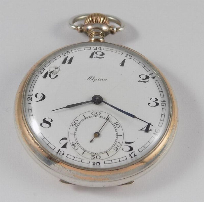 d8633d571 Alpina - Pocket Watch - NO RESERVE PRICE - Junghans J33 - Men - 1901-