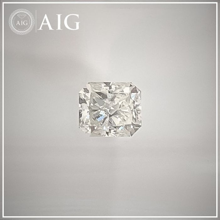 Diamant - 0.40 ct - Radiant - H - SI1