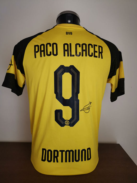 huge selection of efd5f c722a Borussia Dortmund - German Football League - Paco Alcácer - 2018 - Jersey -  Catawiki