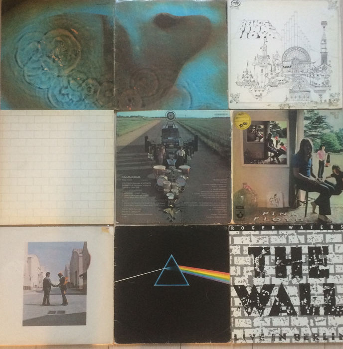 Pink Floyd & Related - LP's - 1969/1980 Records / Vinyl Records & Vinyl for sale