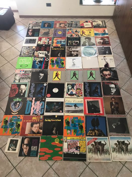 Elvis Costello - Big Elvis Costello Collection - Multiple titles - Various media - 1970/1990