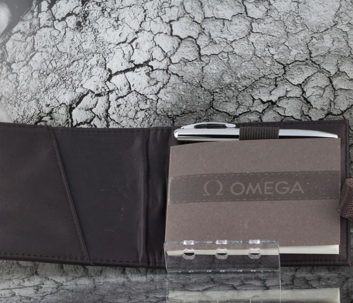 Omega Pocket Note Book & Ballpoint  2019 - Promotional material - High Price & Exclusive Watch Concessionaire item of 1
