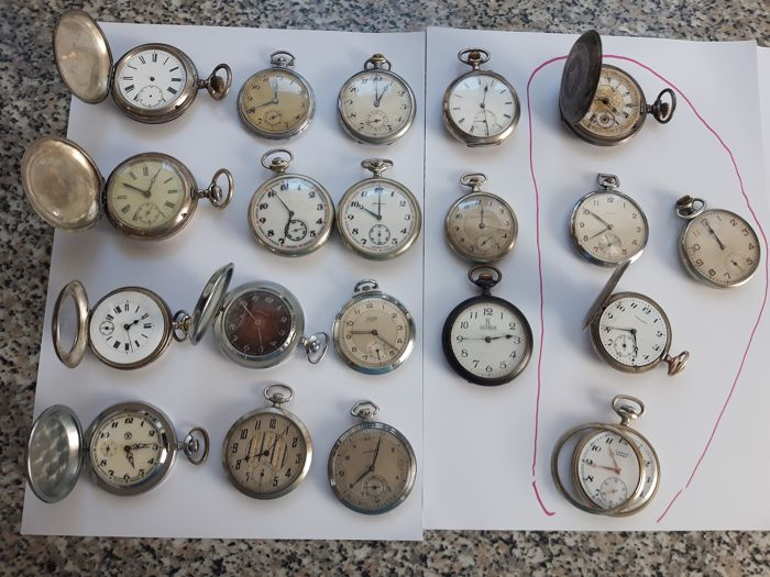 travel Watch - various - 1880 - 1950