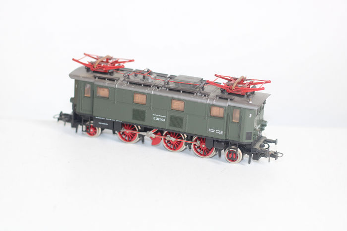 Roco H0 - 4145A - Electric locomotive - BR E-32 - DB