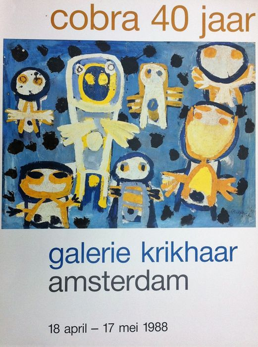 Karel Appel - Cobra 40 jaar - 1988