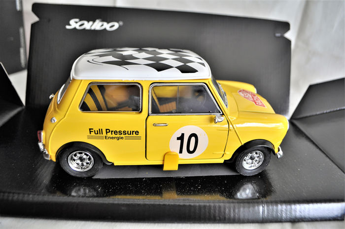 Solido - 1:18 - Mini Cooper S _ Racing Team _ Réf: 9001