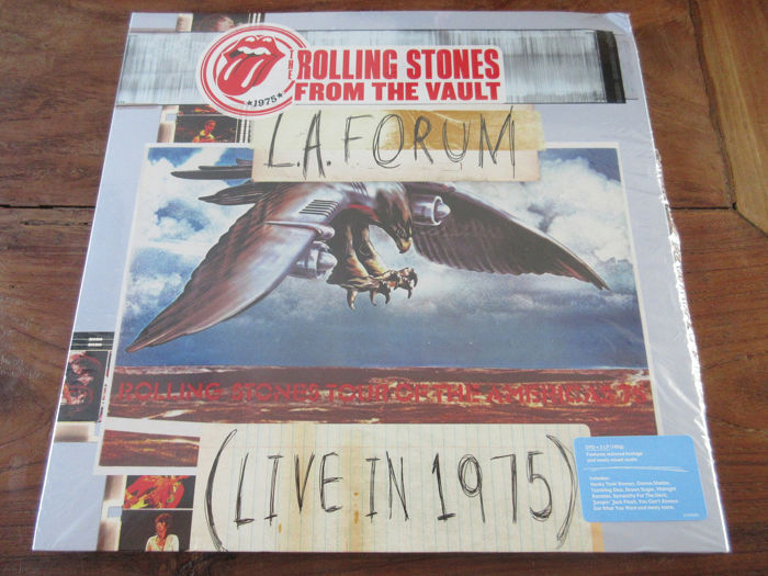 Rolling Stones - From the vault L A  Forum (live in 1975) - 3LP + DVD