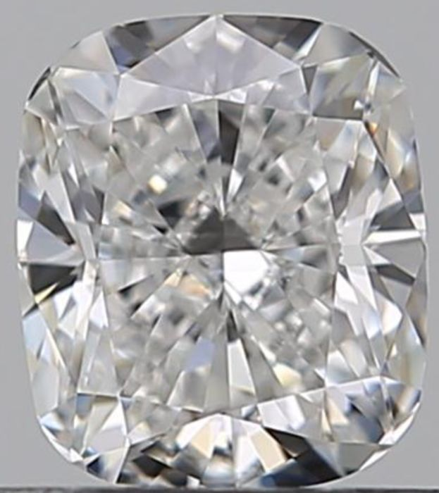 1 pcs Diamond - 0.53 ct - Cushion - E - VVS1