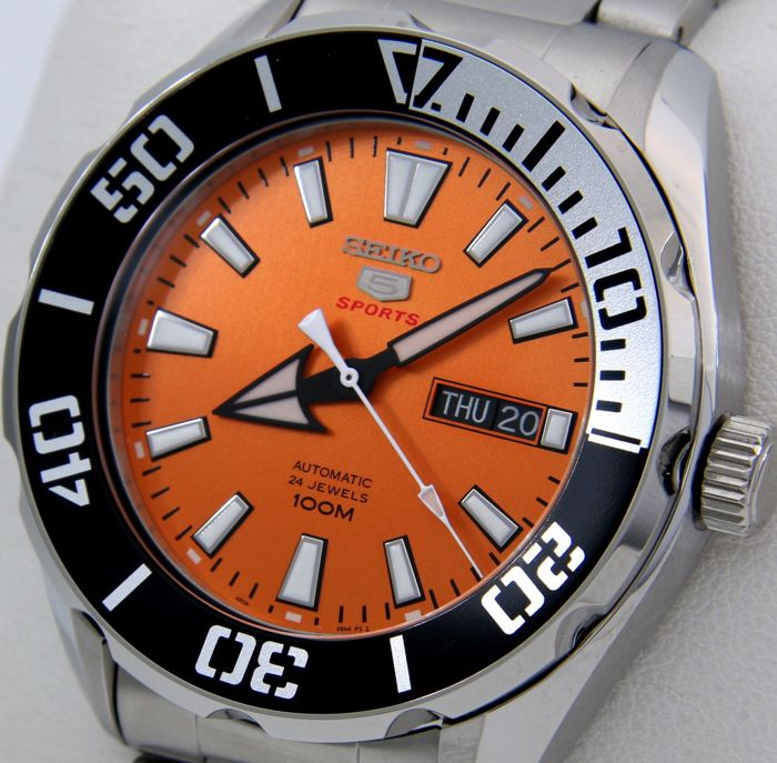 "Seiko - - Automatic 24 Jewels ""Orange Tone"" - - 男士 - 2018"