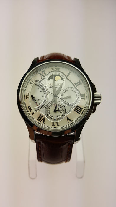 Seiko - Premier Kinetic Direct Drive - Moon Phase - Heren - 2011-heden