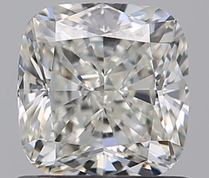 1 pcs Diamant - 1.01 ct - Coussin - I - VS1
