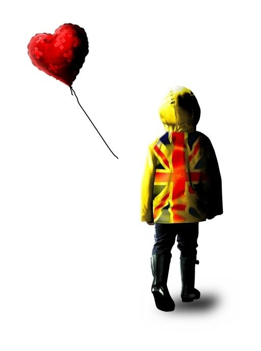 Chris Boyle - Banksy yellow raincoat