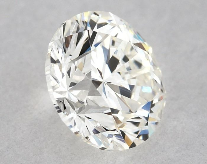 1 pcs Diamante - 0.70 ct - Brillante, Redondo - G - VS1