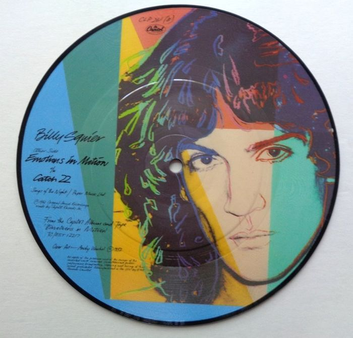 Andy Warhol - Billy Squier - Emotions in motion