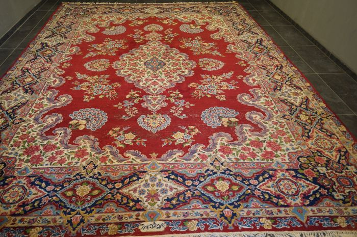Vintage Kirman - Tapijt - 405 cm - 299 cm
