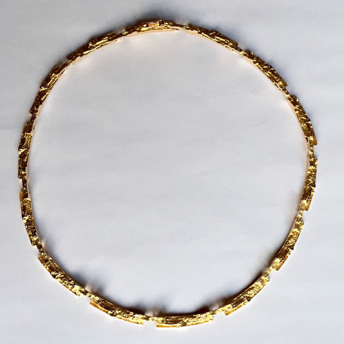 Lapponia - 14 kt. Yellow gold - Necklace