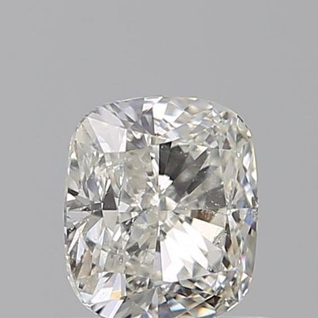 1 pcs Diamant - 0.71 ct - Cushion - J - SI2