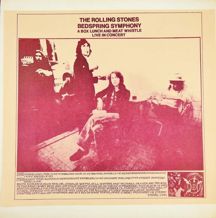 Rolling Stones - – Bedspring Symphony (A Box Lunch And