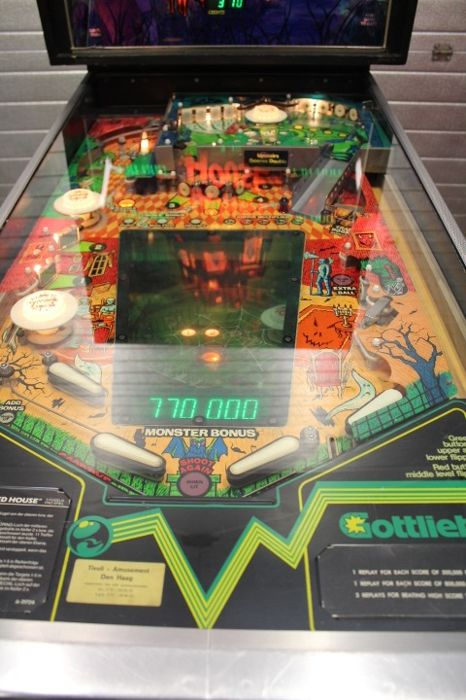 Pinball - Gottlieb Haunted House electronic pinball machine - Catawiki