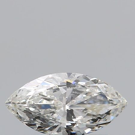 1 pcs Diamante - 0.46 ct - Marquesa - I - SI2
