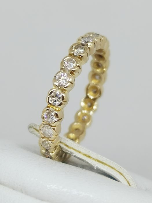 18 kt. Yellow gold - american alliance - 1.15 ct Diamond