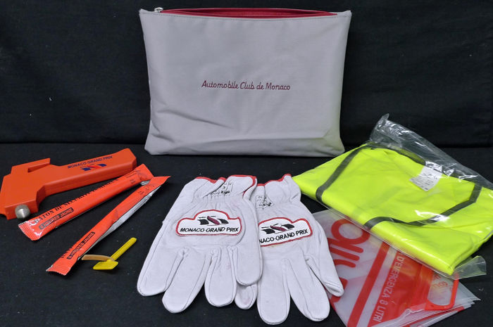 Gereedschapstas - Automobile Club de Monaco - Monaco Grand Prix - Marshalling Kit Bag and Gloves - 1998