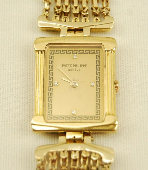 Patek Philippe - 18k Diamonds - 4731 - Unisex - 1970-1979