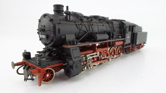 Roco H0 - 43203 - Steam locomotive with tender - BR 58 - DR (DDR)