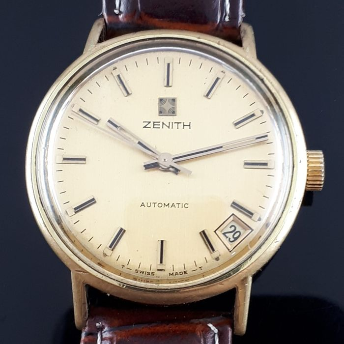 Zenith - Classical Automatic Date  - Hombre - 1970-1979
