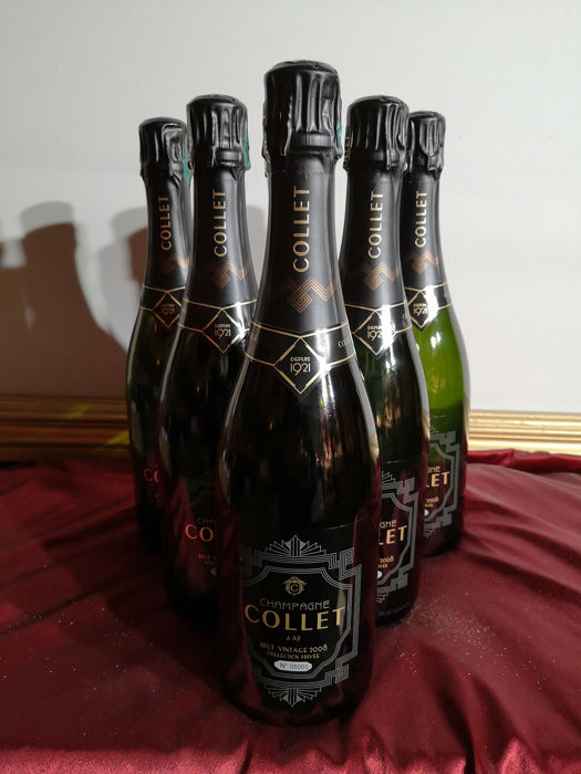 "2008 Collet ""Collection Privée"" - Champagne Brut - 6 Flaschen (0,75 l)"