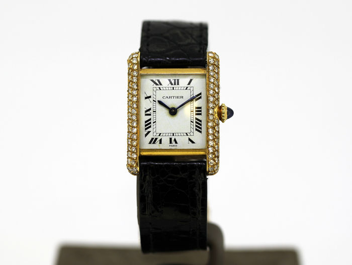 Cartier - Tank Louis  - 780870076J - Dames - 1990-1999