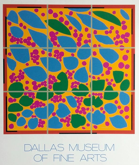 Henry Matisse - Ivy in flower (Dallas Museum of Modern Art) - 1974