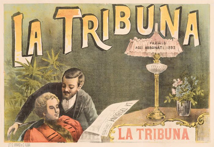 G. Virano - La Tribuna quotidiano - 1895