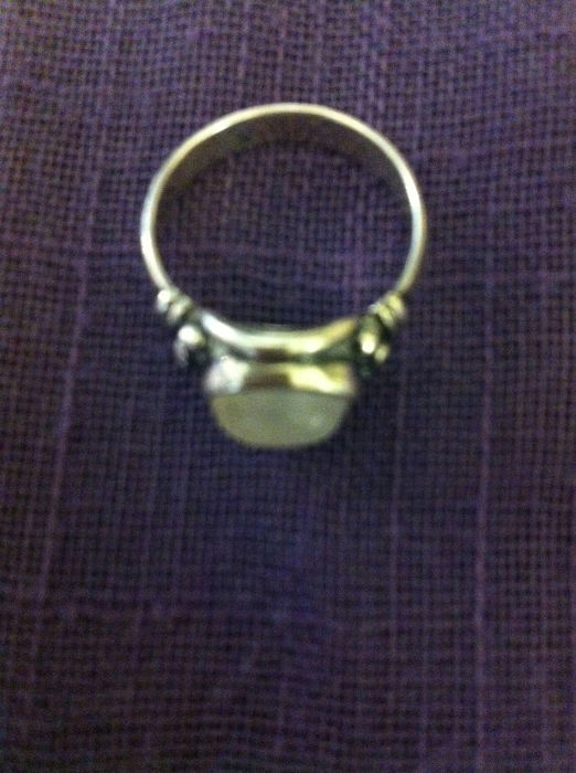 1 - 925 Zilver - Ring - 1.00 ct Opaal - 1