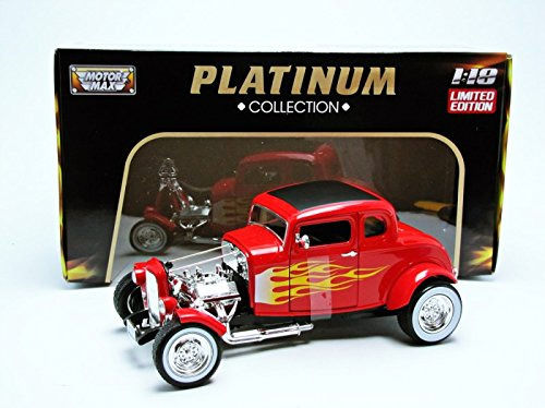 Motormax - 1:18 - Ford Hot Rod 1932 - Platinum Collection