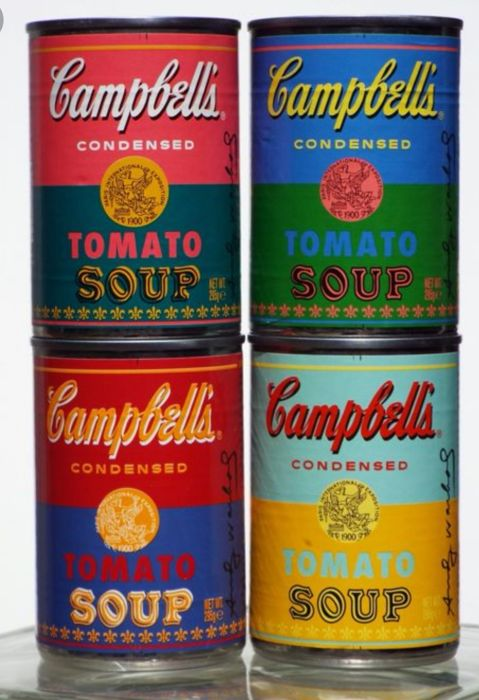 Andy Warhol - Soup cans x4