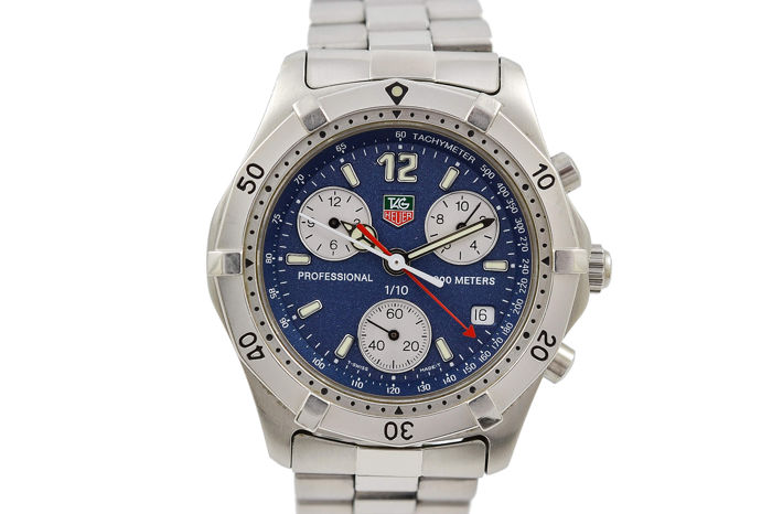 TAG Heuer - 2000 Series Chronograph - CK1112  - Homme - 2000-2010