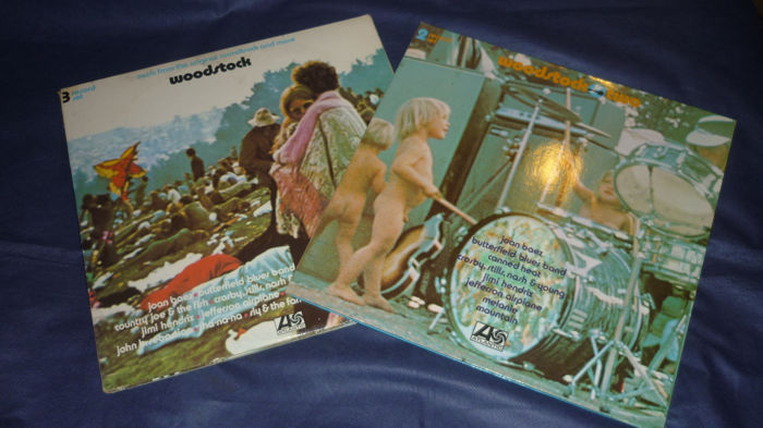 Woodstock - The awesome festival on vinyl - 2019 - 50 Years of Woodstock - Titoli vari - Album 2xLP (doppio), Album 3xLP (triplo) - 1970/1971