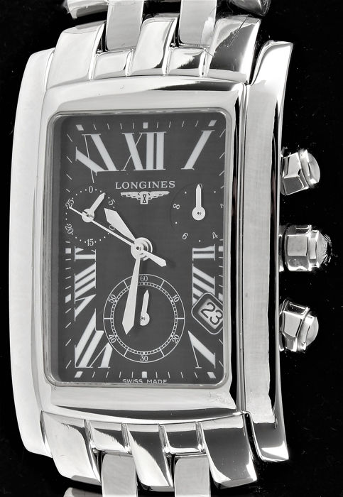 Longines - Dolce Vita 28 Chronograph - Swiss Glory - Ref No. L5.656.4  - Warranty  - Excellent  - Hombre - 2011 - actualidad